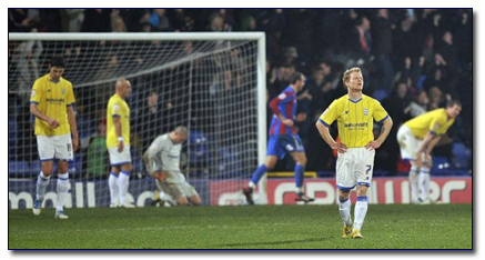 Birmingham City Concede to Palace
