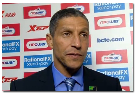 BCFC Manager Chris Hughton Wants to Get Back to Winning Ways