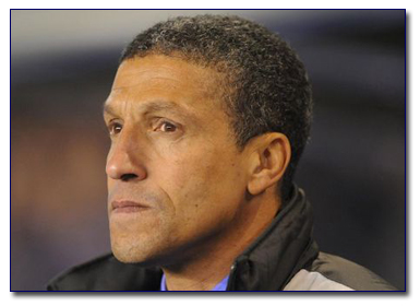 Birmingham City Boss Chris Hughton
