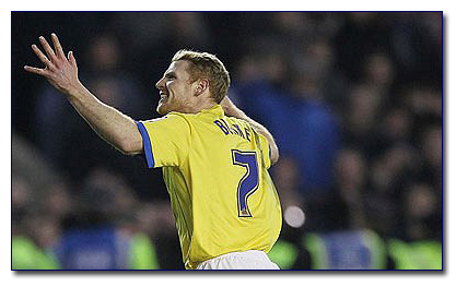 Chris Burke Scores against Millwall