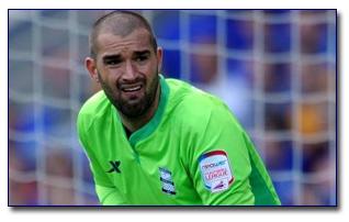 Birmingham City Keeper a Doubt
