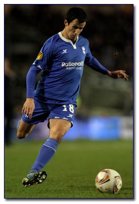 Keith Fahey Scores for Birmingham City