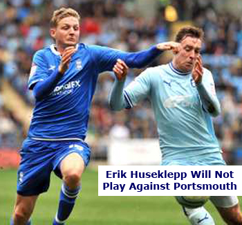 No Game for Erik Huseklepp