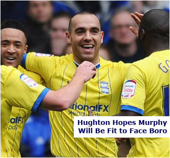 David Murphy Could Be Back To Face Boro