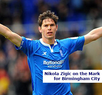 Nikola Zigic on the Mark for Birmingham City