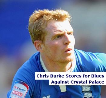 Chris Burke Scores for Birmingham City