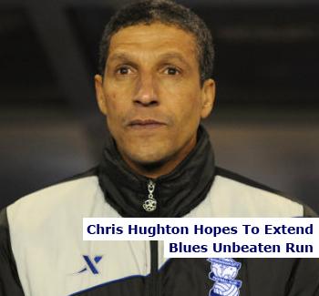 Hughton Hopes to Extend Run