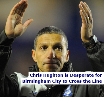 Chris Hughton Desperate for Birmingham City