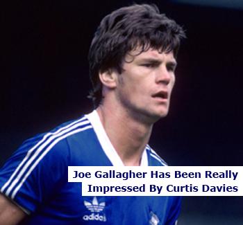 Birmingham City Legend Joe Gallagher