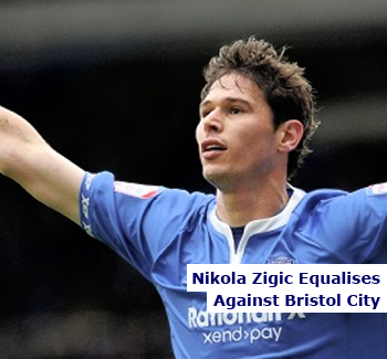 Nikola Zigic Scores For Birmingham City