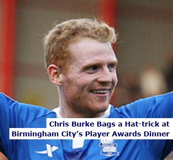 Chris Burke BCFC Player of the Season