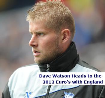 Dave Watson, England Coach