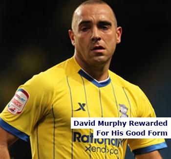 Birmingham City Defender David Murphy