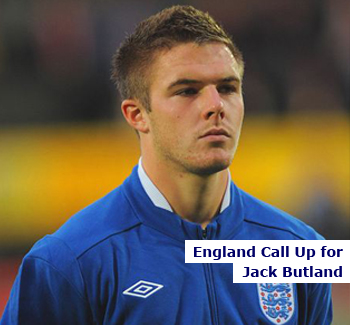 Jack Butland gets England Call Up