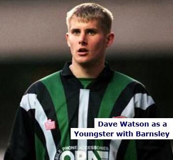 Barnsley Keeper Dave Watson