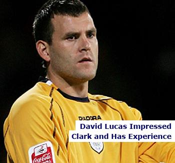 Birmingham City Goalkeeper David Lucas