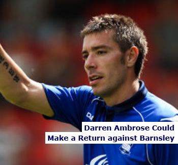 Darren Ambrose Could Make a Return for Birmingham City