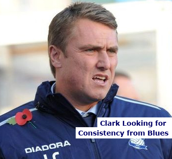 BCFC Manager Lee Clark