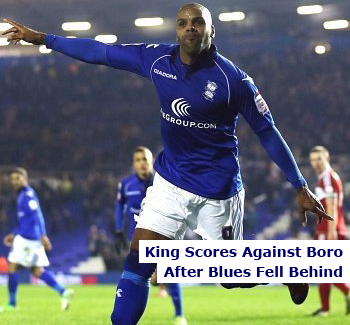 Lee Clark's BCFC Come from Behind Against Boro