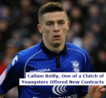Callum Reilly Offered New Contract