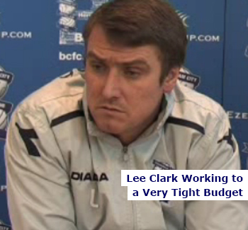 Lee Clark on a Tight Budget