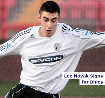 Lee Novak Signs for Blues