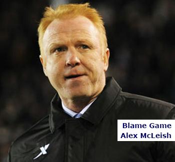 Blame Game Alex McLeish