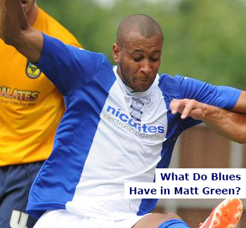 What Do Blues Have in Matt Green