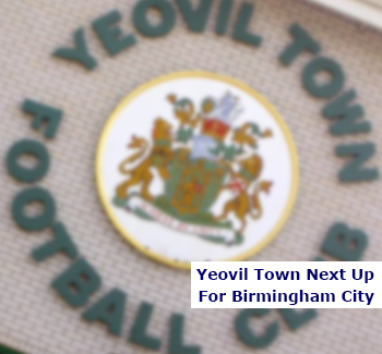 Yeovil Next Up for Blues