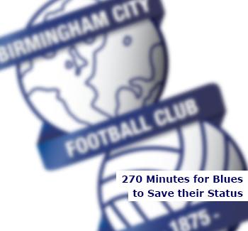 Birmingham City have 270 Minutes