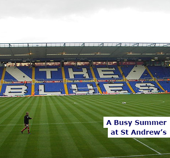 Busy Summer at St Andrew's