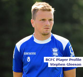 BCFC Player Profile - Stephen Gleeson