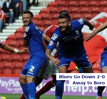 Blues Lose to Boro