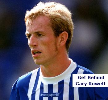 Get Behind Gary Rowett