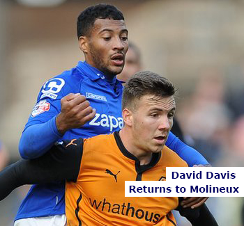 David Davis Returns to Molineux