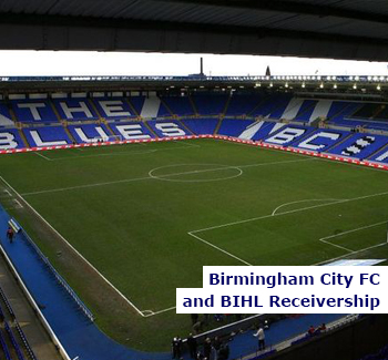 Birmingham City FC and BIHL Receivership