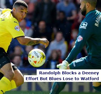Randolph Locks Deeney Against Watford
