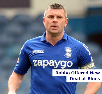 Robbo Offered New Deal at Blues