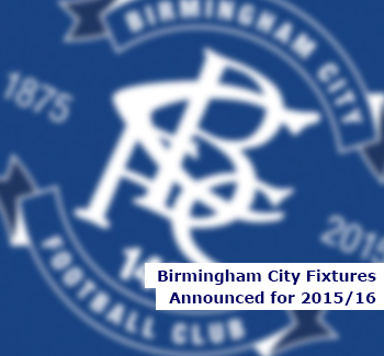 Blues Fixtures Announced