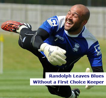 Blues Former Keeper Randolph